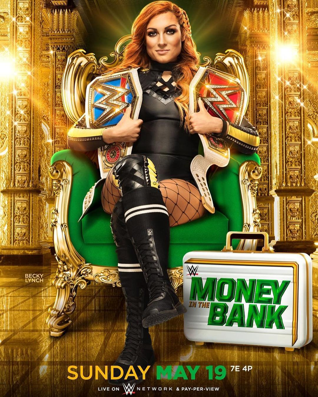 Постер Money in the Bank 2019